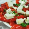 Roasted Red Bell Pepper Salad