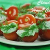 Feta Stuffed Tomatoes