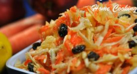 Apple Carrot Celery Salad